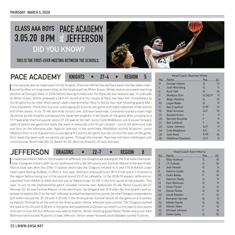 Page 22 of 2020 GHSA Basketball State Championships