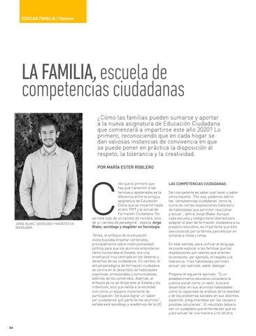 Page 34 of EDUCAR FAMILIA: VALORES La familia, escuela de