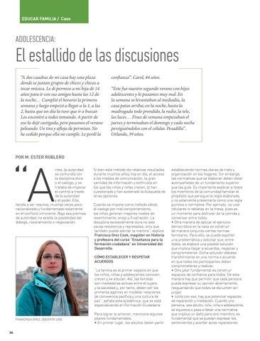 Page 38 of EDUCAR FAMILIA: CASO Adolescencia, el estallido de las