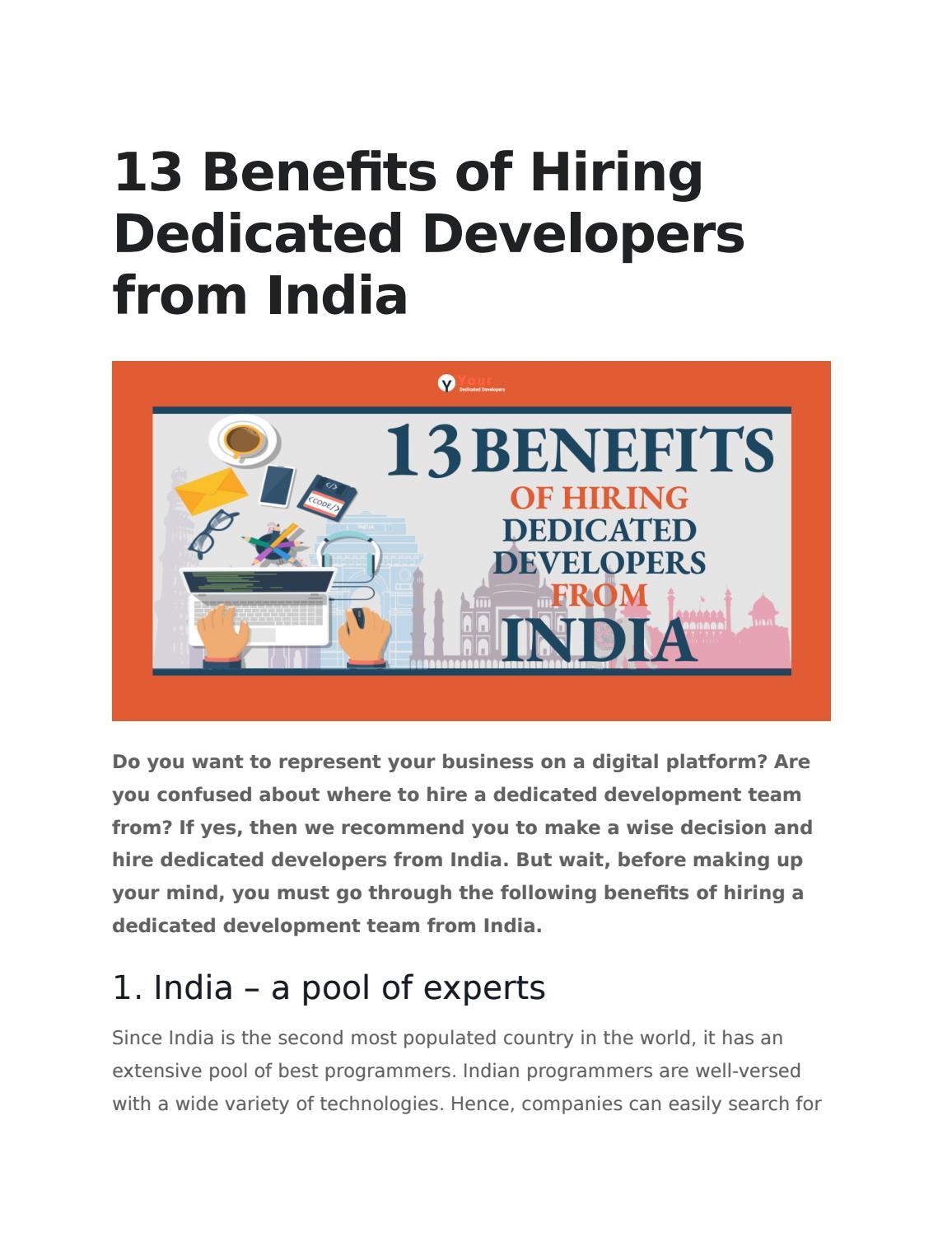 Benefits of Hiring Dedicated Development Team for your Business -  SkyTechGeek