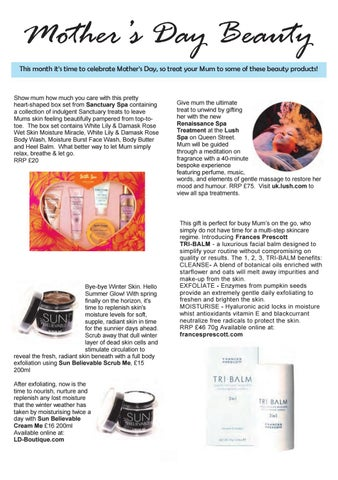 Page 26 of Mother's Day Beauty