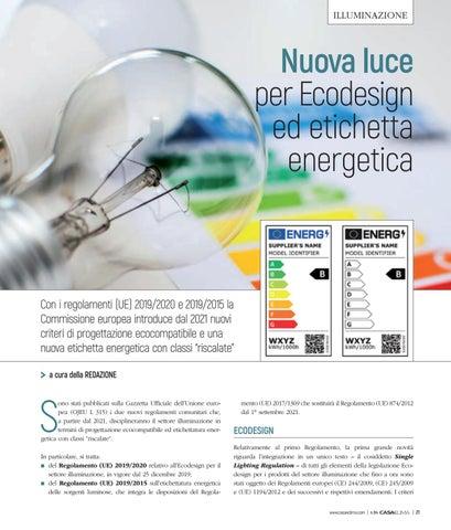 Page 25 of Nuova luce per Ecodesign ed etichetta energetica