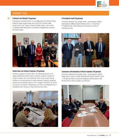 Page 81 of Gli incontri istituzionali tra dicembre e gennaio
