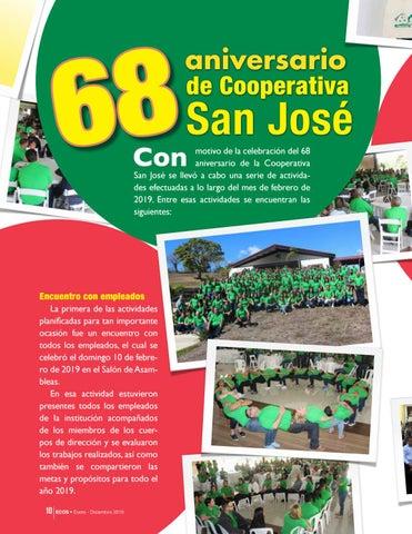 Page 10 of 68 aniversario Cooperativa San José