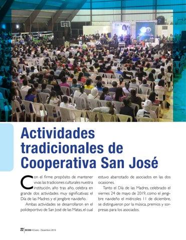 Page 22 of Actividades tradicionales de Cooperativa San José