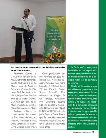 Page 25 of Actividades Fundación San José