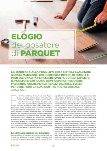 Page 46 of Elogio del posatore di parquet
