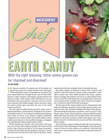 Page 22 of BACKCOUNTRY CHEF