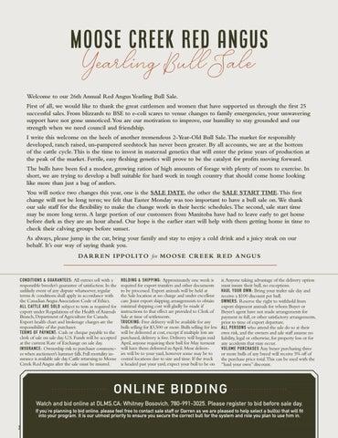 Page 2 of RED MOOSE CREEK VANGUARD 89G