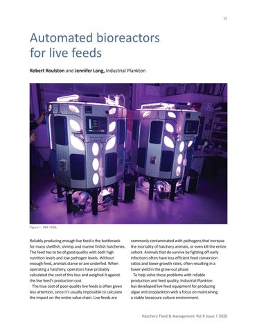 Page 15 of Automated bioreactors for live feeds
