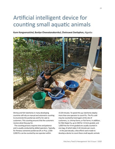 Page 29 of Artificial intelligent device for counting small aquatic animals