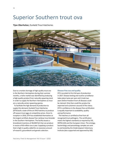 Page 36 of Superior Southern trout ova