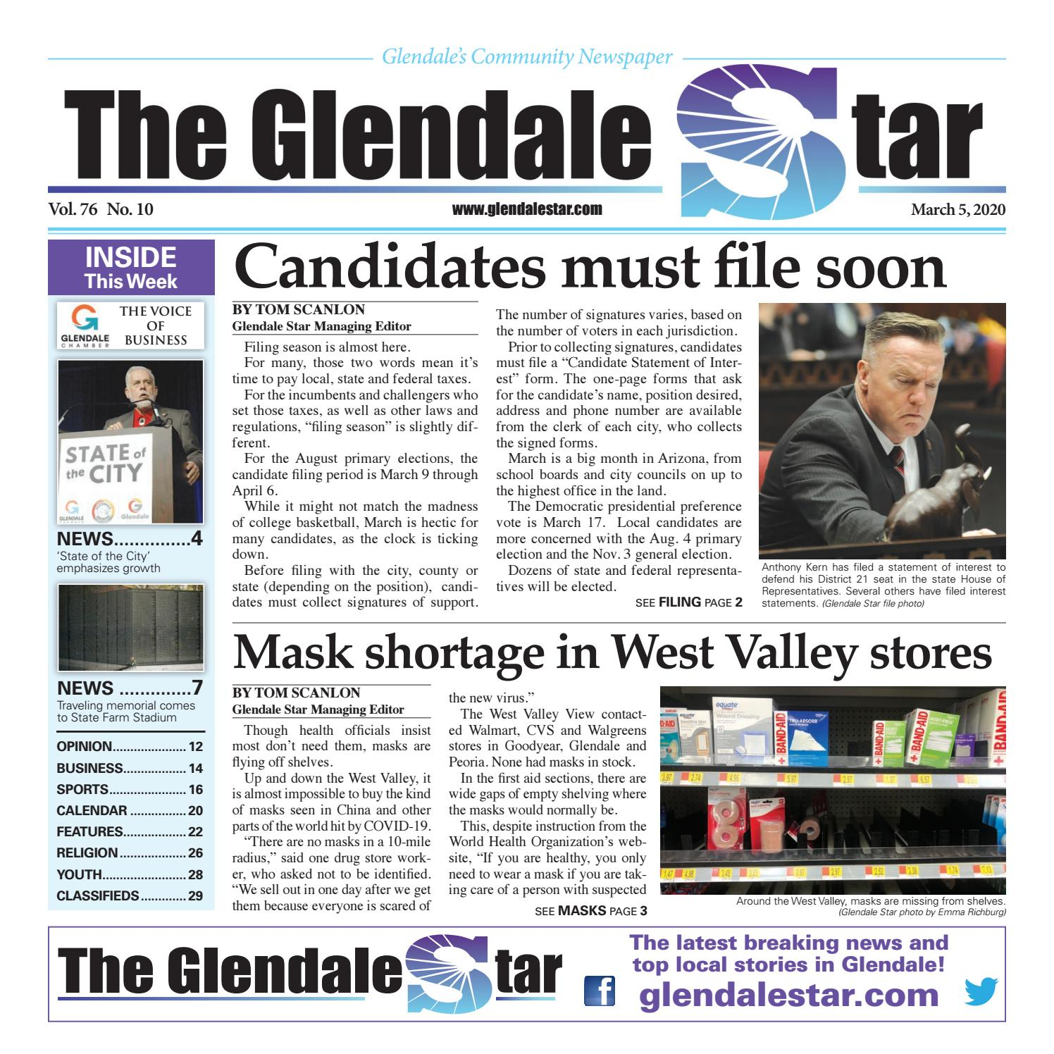 Glendale Star 03 05 2020 By Times Media Group Issuu