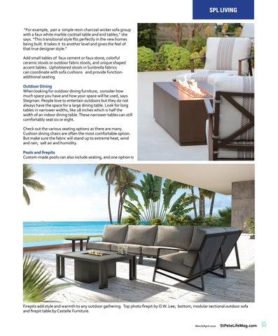 Page 67 of Outdoor Living: Entertaining Ideas