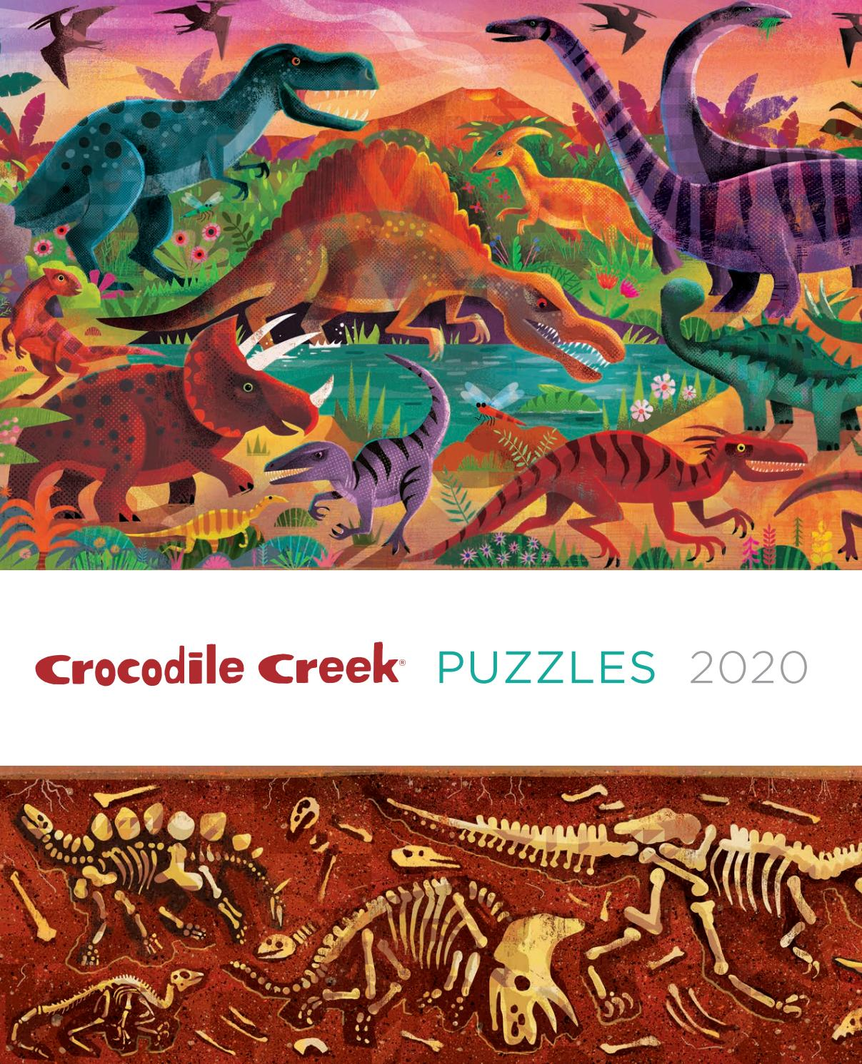 Lots of Cats Crocodile Creek 72Piece Jigsaw Puzzle for Ages 6 /& Up