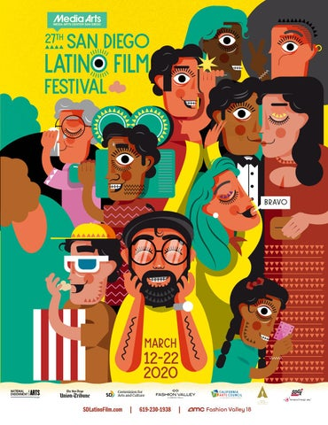 27th San Diego Latino Film Festival Souvenir Catalogue By Ethan