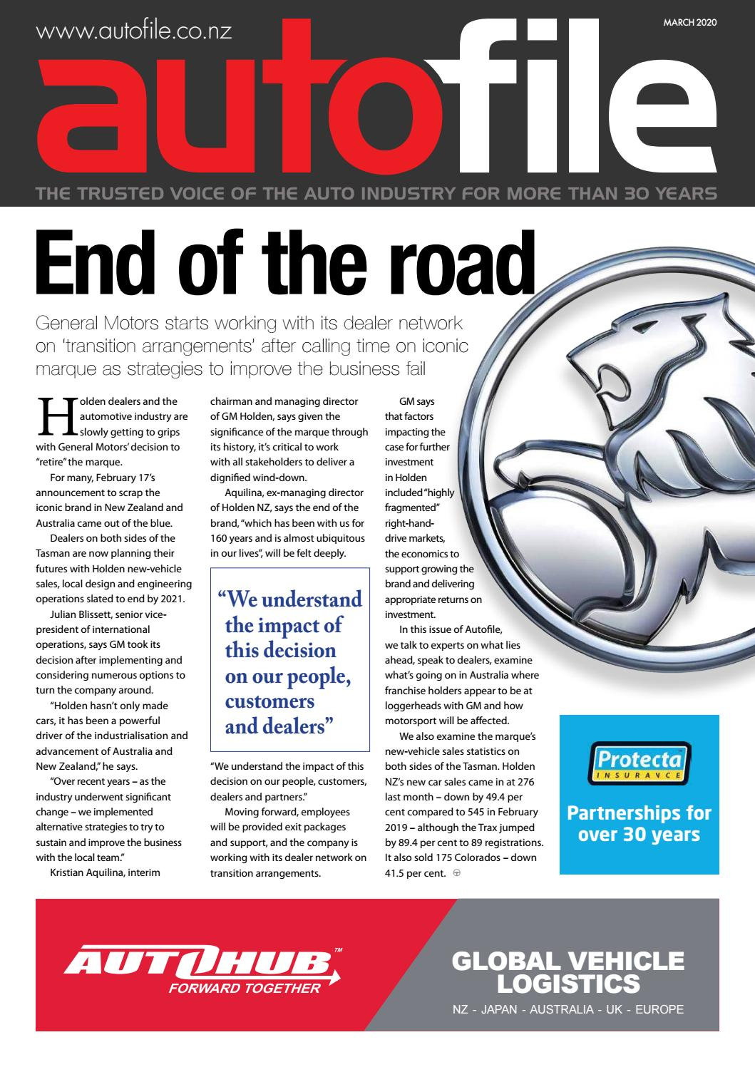 March Issue Out Now By Autofile Issuu