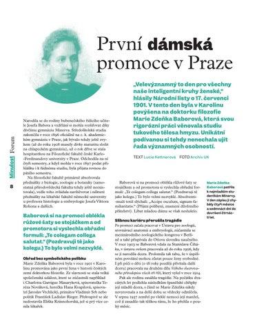 Page 10 of První dámská promoce vPraze