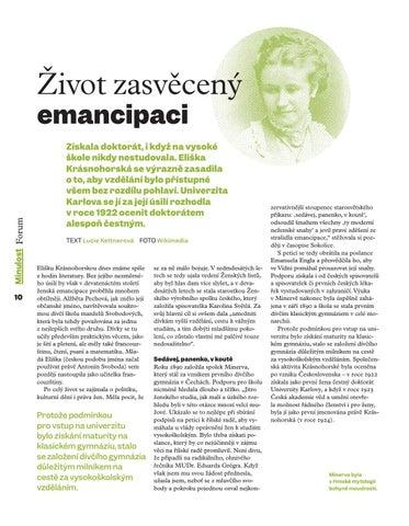 Page 12 of Život zasvěcený emancipaci