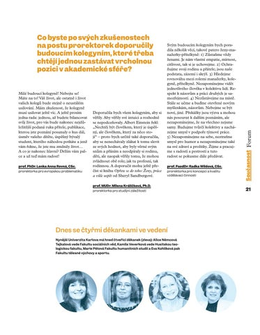 Page 23 of rektorka ještě ne