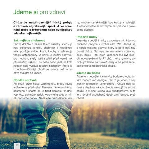 Page 16 of Chůzí ke zdraví