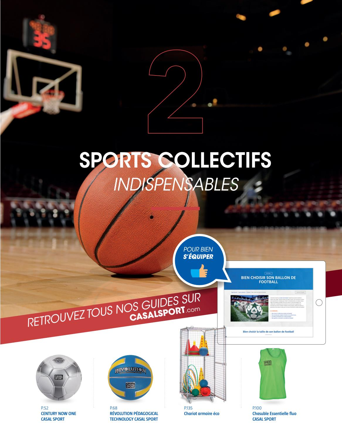 Ballon Gym Quelle Taille Choisir les sports collectifscasal sport - issuu