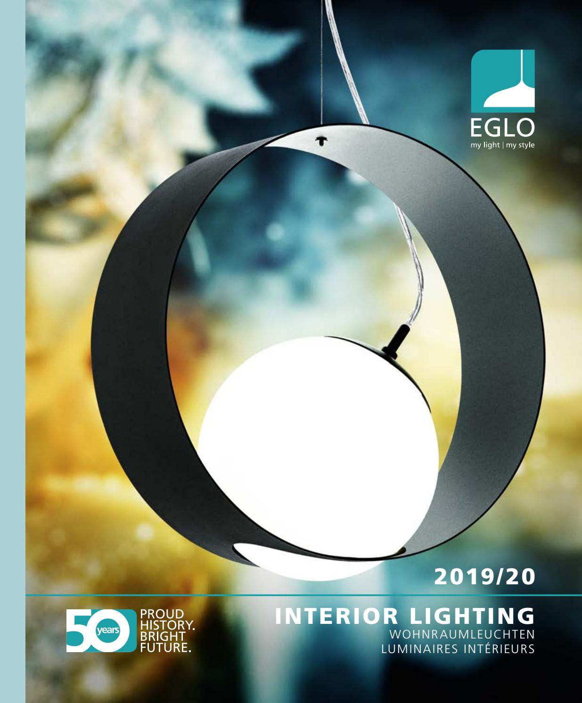 Eglo 96038 Metrass LED Applique Murale 680lm Nickel-Mat Satiné