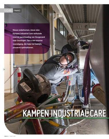 Page 38 of Kampen Industrial Care werkt in blinkende omgeving
