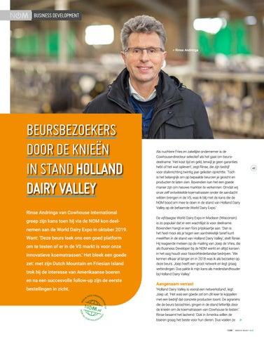 Page 41 of Beursbezoekers door de knieën in stand Holland Dairy Valley