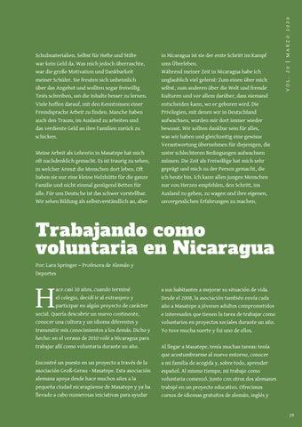 Page 29 of TRABAJANDO COMO VOLUNTARIA