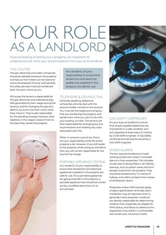Page 15 of Your role as a landlord