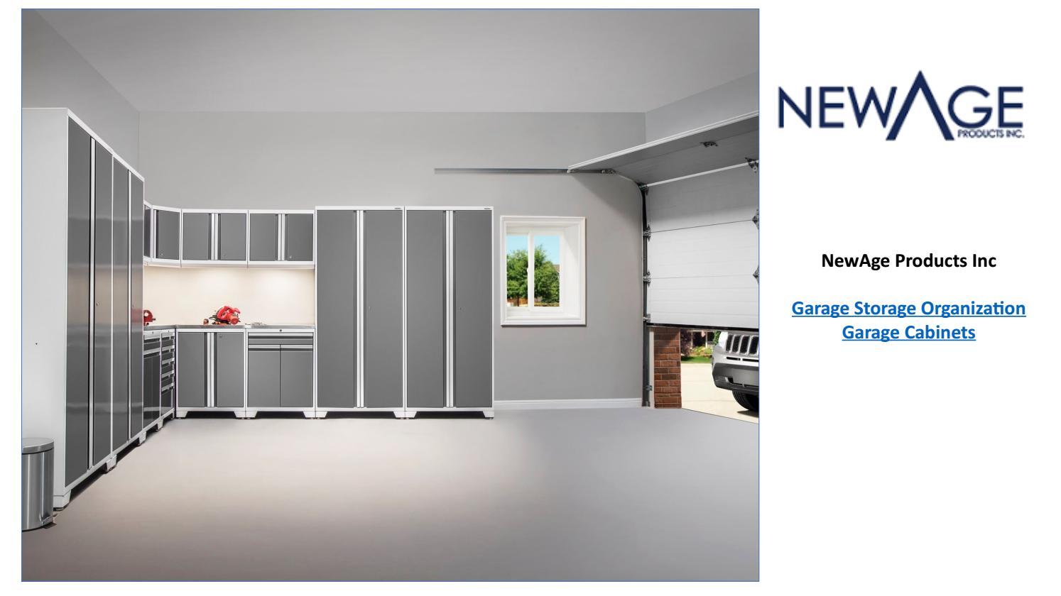 Garage Storage Solution And Organization System Canada Newage Products Ca By Newageproductsinc Issuu
