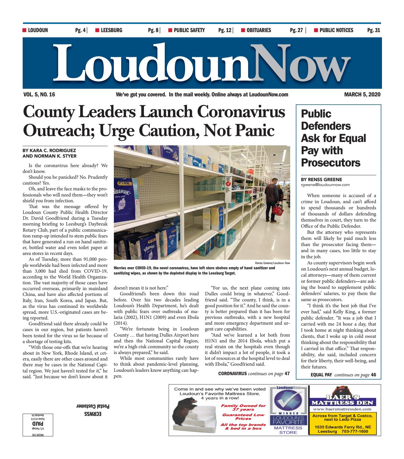 Loudoun Now For March 4 2020 By Loudoun Now Issuu