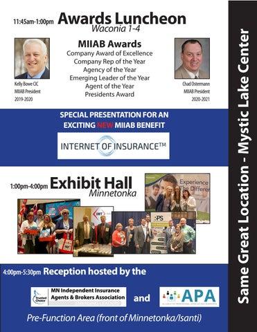 Page 11 of MIIA EXPO 2020 - Wednesday April 29th, Mystic Lake Center - Prior Lake