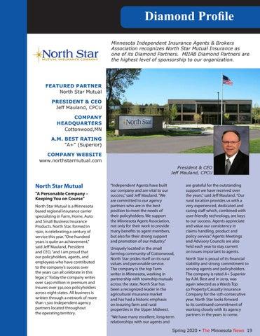 Page 19 of Diamond Profile - North Star Mutual