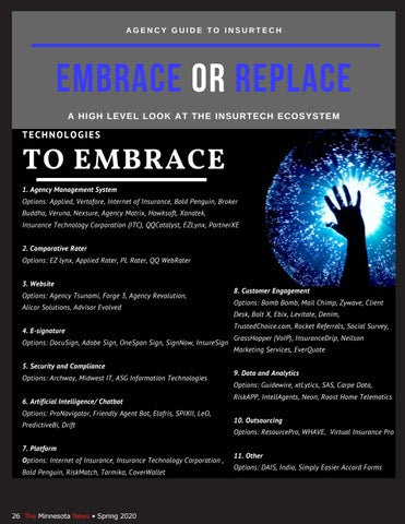 Page 26 of Agency Guide to Insurtech - Embrace or Replace