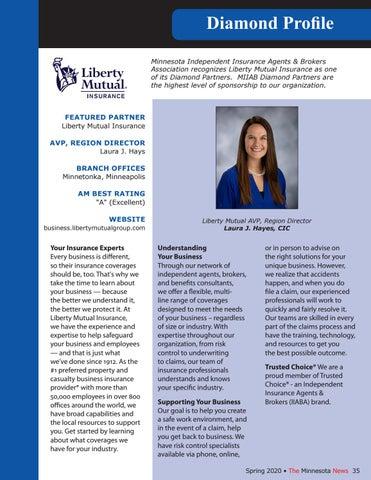 Page 35 of Diamond Profile - Liberty Mutual Insurance