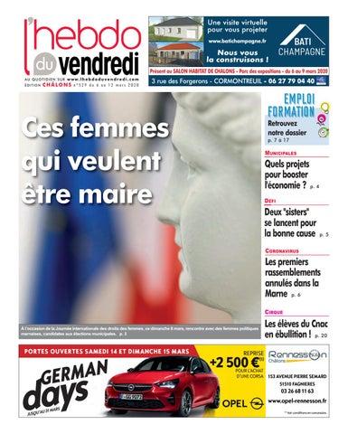 L Hebdo Du Vendredi Chalons 529 By Kilkoa Issuu