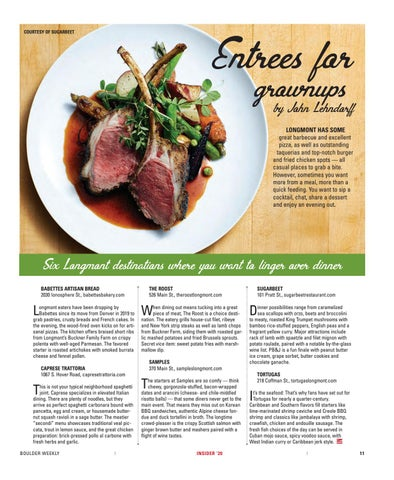 Page 13 of Entrees for