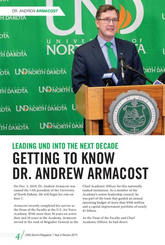 Page 4 of Getting to Know Dr. Andrew Armacost