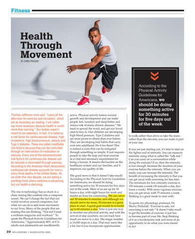 Page 20 of Health Through Movement