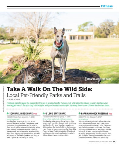 Page 25 of Take a Walk on the Wild Side: Local Pet-Friendly Parks & Trails