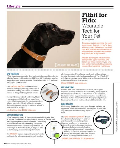 Page 40 of Fitbit for Fido: Wearable Tech For Your Pet