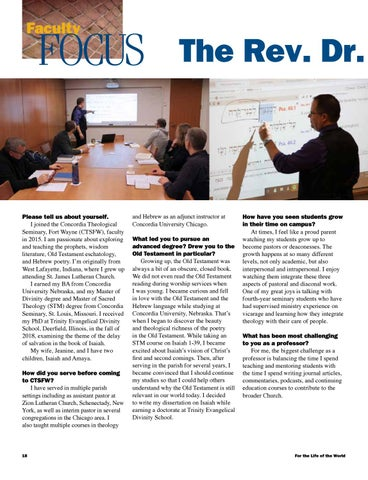 Page 18 of Faculty Focus