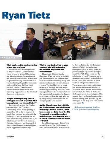 Page 19 of Faculty Focus
