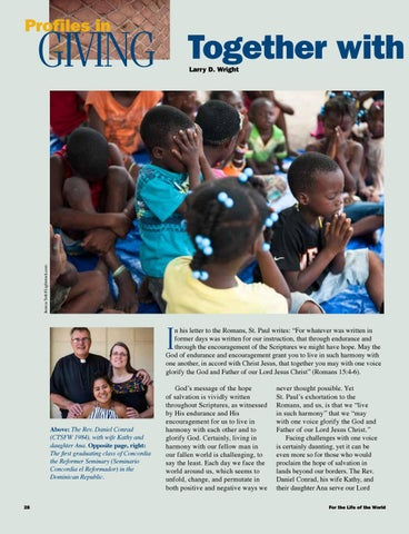 Page 28 of Profiles in Giving