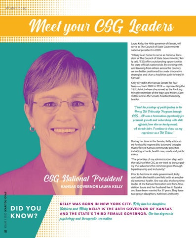 Page 18 of Meet Your CSG Leaders