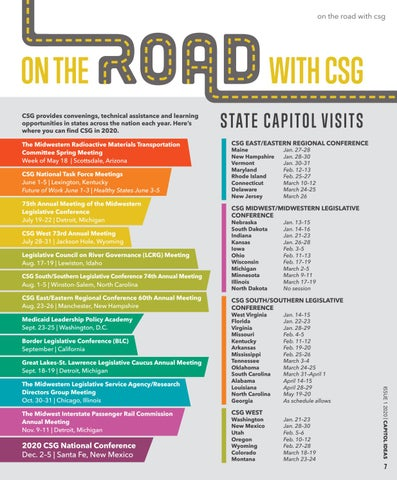 Page 9 of On the Road with CSG