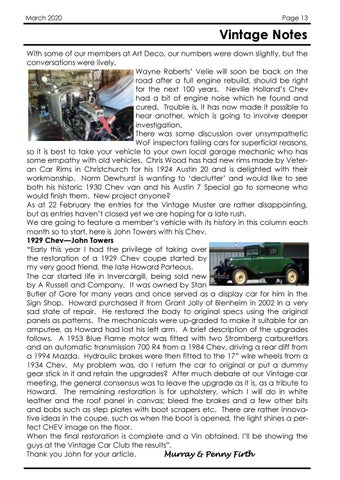 Page 13 of Mid Week Tourers
