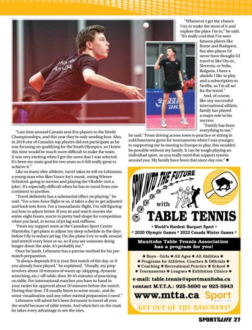 Page 27 of Table Tennis